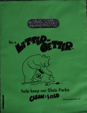 Litter Getter  State Parks Bag